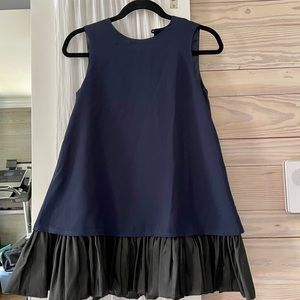 ASOS dress black and navy